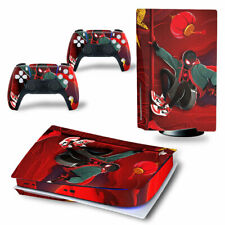 PS5 Disc Edition Skin Decal Sticker -Spiderman Custom Design 20 - FREE P&P