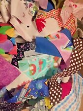 New Fabric Scraps Quilting/Scrapbooking/Doll Clothes Lot Of 10