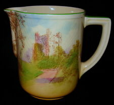 Royal Doulton Rochester Castle Hand Painted Pitcher/Creamer