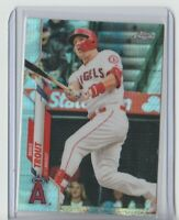 2020 Topps Chrome Mike Trout Prism Refractor #1 Angels