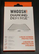 WHOOSH! DIAMOND DEFENSE Liquid Screen Protection Packs Preventing Screen Scratch