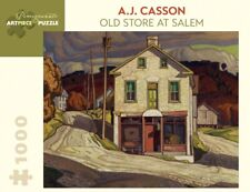 Pomegranate Jigsaw - Old Store at Salem by A.J. Casson (1000 pieces)