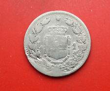 "Italien-Italy: 1 Lira 1886-R Silber, S-VG, KM# 24.1, ""Umberto I."", #F1162"