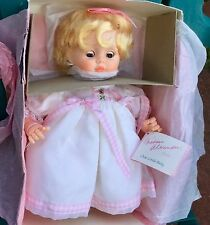 """NWT NIB 37003 MADAME ALEXANDER CUTE LITTLE BABY DOLL BLONDE BLUE EYES IN BOX 14"""""""