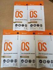Pruvit Keto OS 2.1 Charged (Caffeine) Orange Dream Ketones 5 OTG Packs
