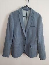 Zara Mens Blue Blazer Size 38 Great Condition
