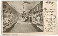 Interior of The Palace Store on Fifth Avenue in Pittsburgh PA 1906
