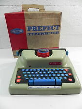 METTOY 4320 PREFECT TYPEWRITER jouet ancien machine à ecrire vintage avec boite