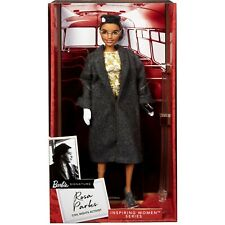 Barbie Inspiring Women Rosa Parks Doll with Accessories, Ships Now! (2) In Hand