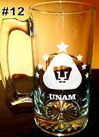 PUMAS UNAM sport Beer Mug 26.5 oz Personalized Laser Engraved TARRO, free shippi