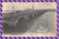 CPA 33 - BORDEAUX - Perspective du pont, vue prise de la bastide