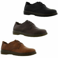 Dr Martens Bexley Elsfield Mens Black Brown Leather Lace Up Shoes Size 8-13
