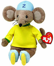 TY BEANIE BABY BABIES ZOOMER FROM RASTAMOUSE PLUSH SOFT TOY NEW WITH TAGS