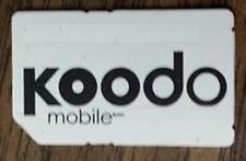 USED KOODO HSPA SIM CARD RESTORING TEST CELL PHONES BOOT BYPASS UNLOCK UNLOCKING