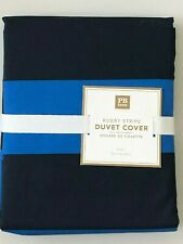 POTTERY BARN TEEN Colorblock Reversible Duvet Cover TWIN