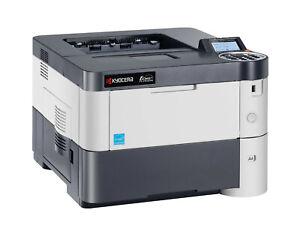 Kyocera FS-2100DN Laserdrucker Drucker Netzwerk LAN S/W nur 2.700 Seiten #012