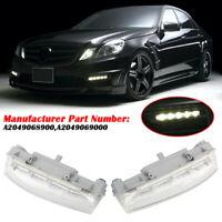 lumière de brume Feux de brouillard DRL pour Mercedes-Benz W204 W212 C250 C280
