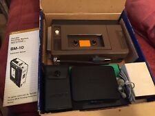 Sony BM10 consecutivi pre Walkman vintage Dittafono Machine Works in Scatola