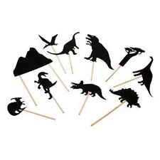 Moulin Roty French Dinosaur Night Time Shadow Puppets Pretend Play Toy