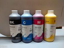 Inktec HP 970 971 970xl 971xl Bulk Ink 4 X 1 litre bottles  Bk/C/M/Y