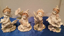 Set of 4' Cute Baby with Soft Fairy wings - 6025-  X' mas Present / Gift Special