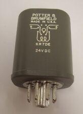 Potter & Brumfield KR7DE-24  24vdc hermetically sealed relay *NEW*