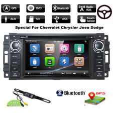 "6.2"" Car DVD Player GPS Stereo Radio For Jeep Grand Cherokee/Chrysler/Dodge +Cam"
