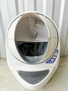 Litter Robot III (3) Open Air Self Cleaning White Litter Box NO POWER CORD AS-IS