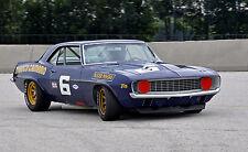 1969 Chevrolet Camaro Trans Am Chevy Vintage Classic GT Race Car Photo CA0767