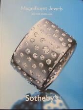 SOTHEBY'S Magnificent Jewels – Cartier Jacob Tiffany Van Cleef Arpels