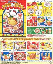 Re-Ment Miniature Sanrio Hello Kitty Cafe Restaurant Full Set of 8 pcs RARE!!