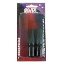 VRL VRLDMXTERMINATOR DMX Terminator Set Includes (1) 3 Pin and (1) 5 Pin