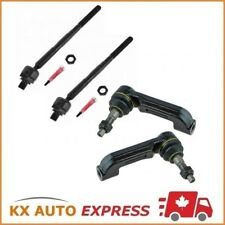 4X Front Inner & Outer Tie Rod End for 08-12 Jeep Liberty & 08-11 Dodge Nitro