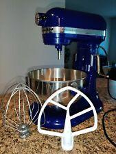 KitchenAid Stand Mixer 450 -W 10-Speed 5-Quart Rkv25Gox Bu Blue Professional 5