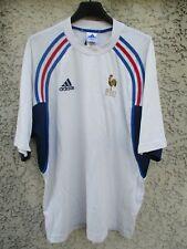 Maillot training coton EQUIPE de FRANCE Coupe du Monde 98 ADIDAS vintage shirt M