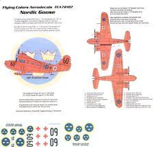 Flying Colors Aero 1/72 Grumman Goose en esquís o flotadores # 72107