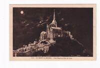 AK Ansichtskarte Le Mont / St. Michel / Côté Nord au Clair de Luna
