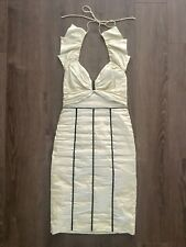 Nicole Miller Collection Ruched Halter Dress - Size 4!