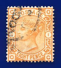 More details for 1876 sg156 8d orange plate 1 j91a og london good used cat £350 djku