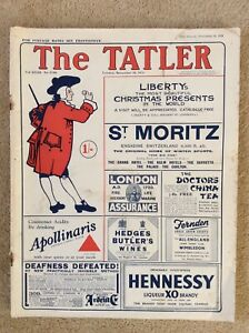 The Tatler Magazine ~ 18th November 1931
