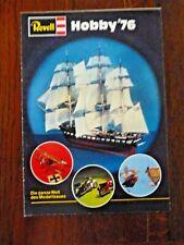 Catalogue Revell Hobby 1976 - Toy catalogue  Catalog Model Revell 1976
