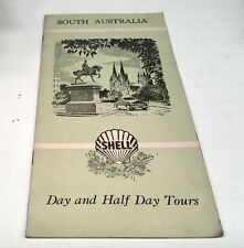 1959 SHELL  Oil Co. Day & Half  Day Tours Booklet of SOUTH  AUSTRALIA