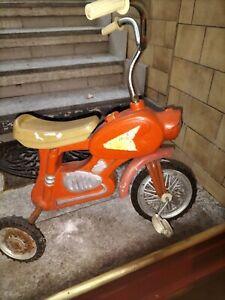 Moto A Pedali No giordani.  Bambino Anni 70