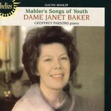 Gustav Mahler : Songs of Youth (Baker, Parsons) CD (2004) ***NEW***