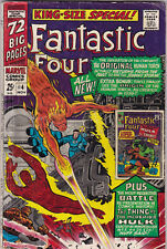 Fantastic Four Annual #4 vg+ to fine