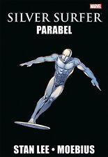 SILVER SURFER: parabola HC (tedesco) Stan Lee + MOEBIUS Marvel Graphic Novel #19
