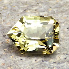 APATITE-MEXICO 4.10Ct FLAWLESS-FOR TOP JEWELRY-UNTREATED LIVELY YELLOW GREEN CLR