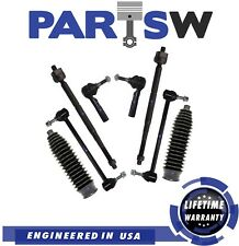 8 Pc Suspension Kit for Chevrolet Pontiac Inner & Outer Tie Rod End Sway Bar End
