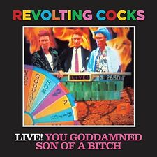 Live You Goddamned Son Of A Bitch - Revolting Cocks (2014, CD NEUF)