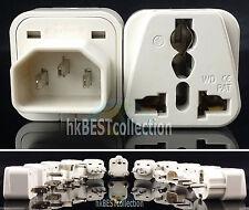 IEC320 C14 Male Plug AC Power Universal Travel Adapter